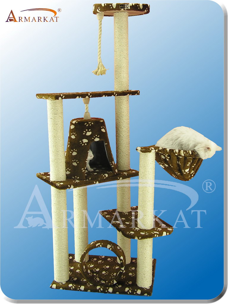Classic Cat Tree A6601 - Height 66""