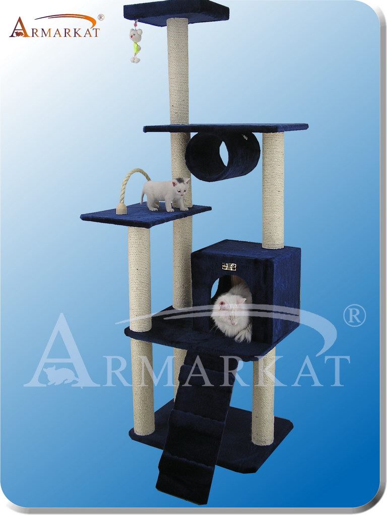 Classic Cat Tree A7101 - Height 71""
