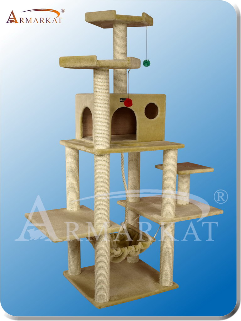 Classic Cat Tree A7202 - Height 72""
