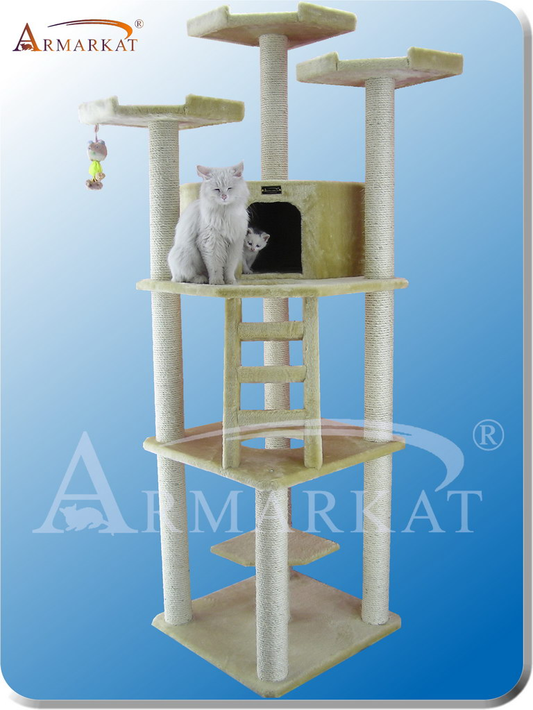 Classic Cat Tree A8001 - Height 80""